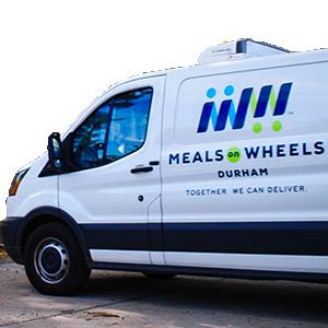 Meals on Wheels van photo